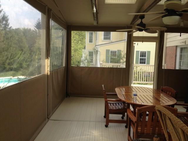 Drop Curtains/Enclosures | Kreider's Canvas Service, Inc.