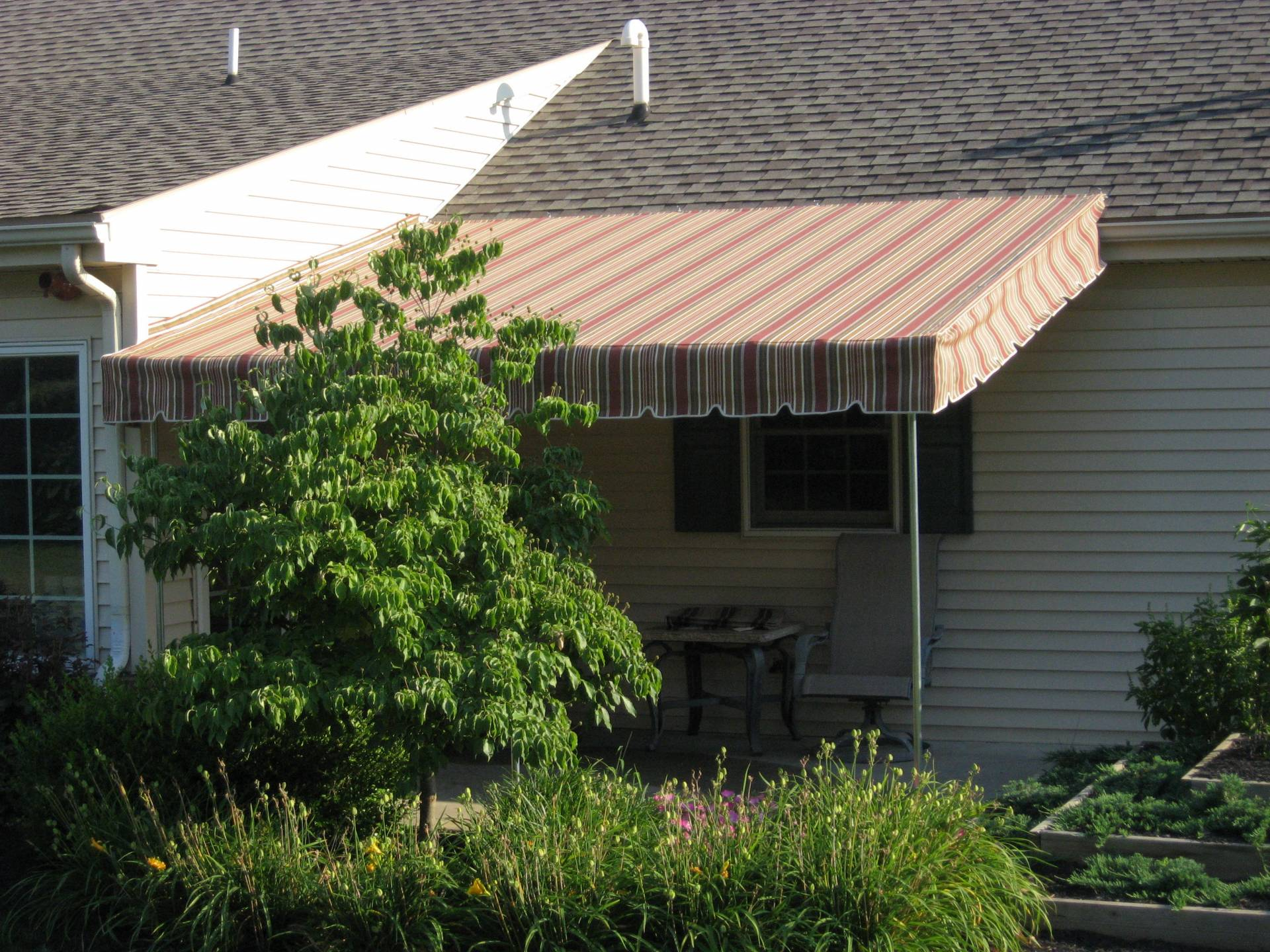 Patio Canopy With Venetian Wing Kreider 39 S Canvas Service