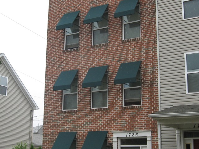 Residential Window Awnings : Window awnings kreider s canvas service inc