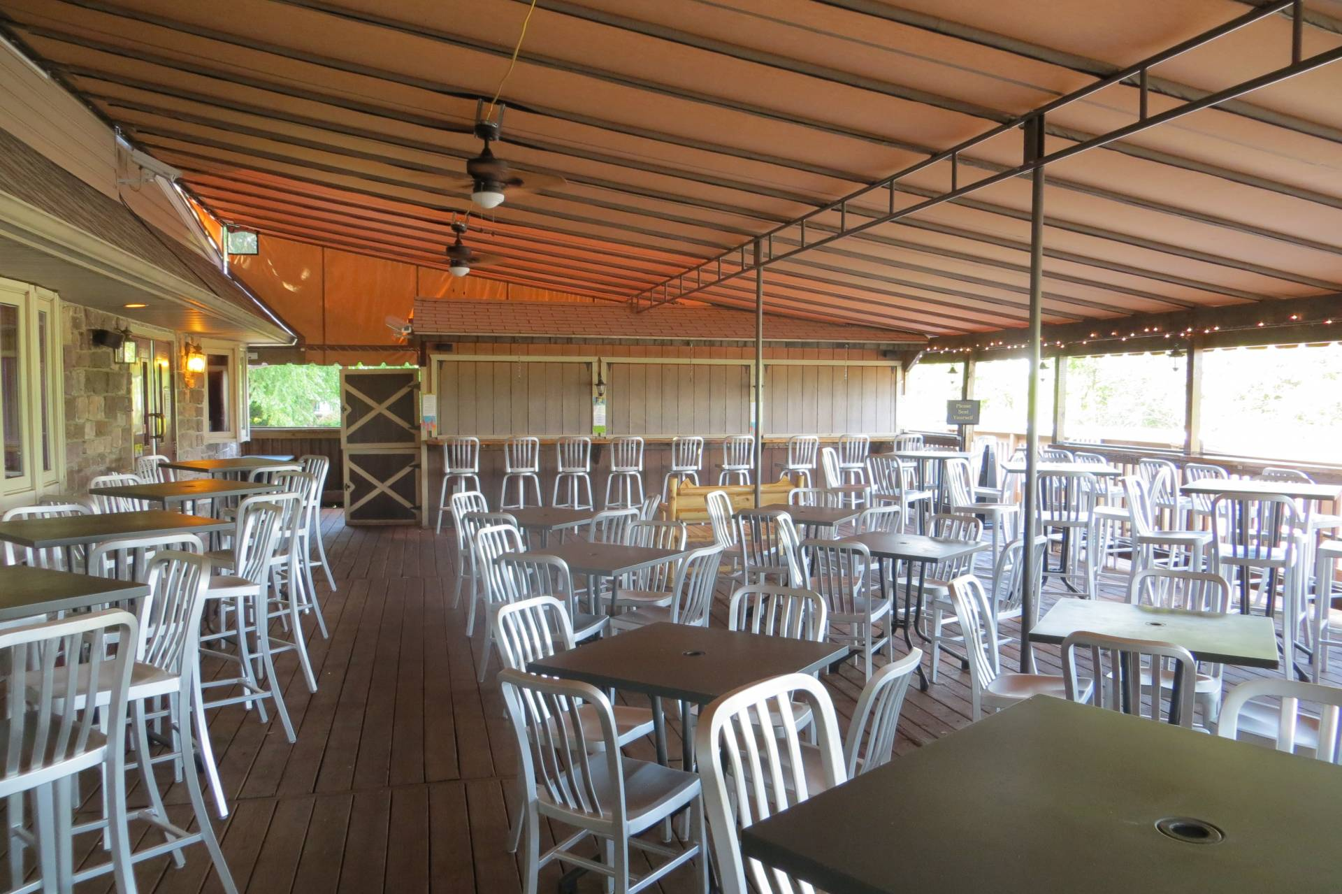 Dining Canopy With Clear Vinyl Sides Kreider S Canvas