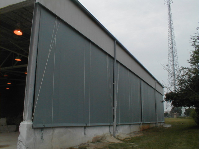 Commercial Drop Curtains Enclosures Gallery Kreider S