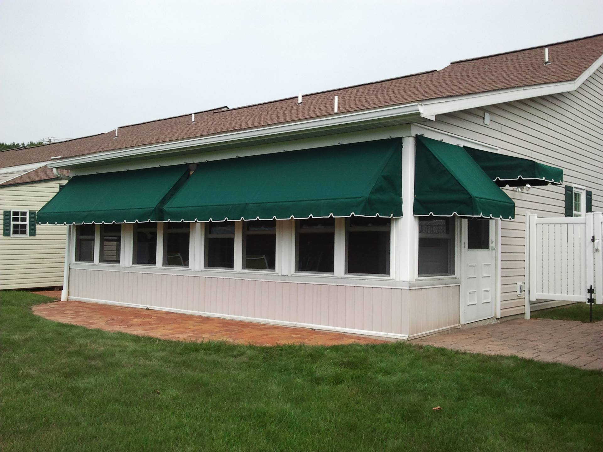 Porch Awnings | Kreider's Canvas Service, Inc.