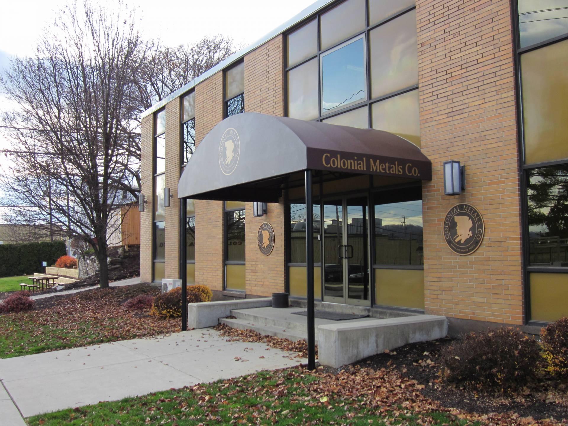 Colonial Metals Entrance Canopy Kreider S Canvas