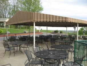Sunbrella Dining canopy