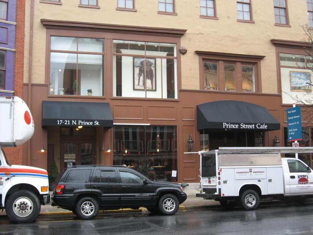 Prince Street Cafe Store Front Awnings Kreider S