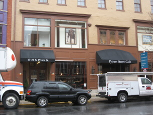 Storefront Facade awnings