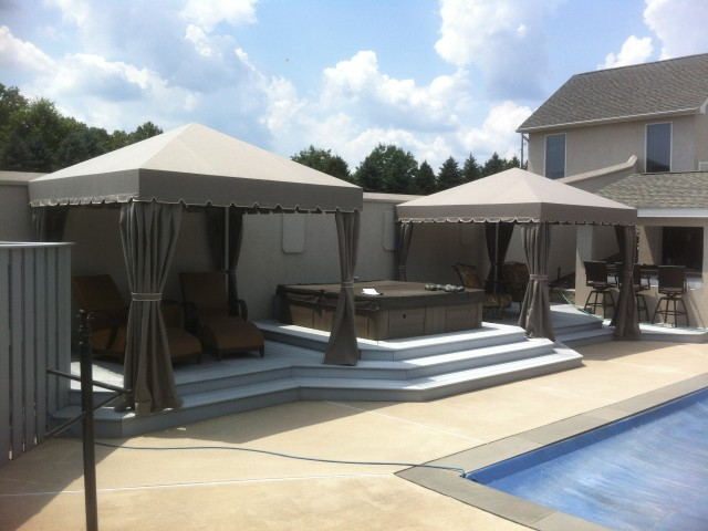 pool shade cabana water and rain resistant. Reading PA