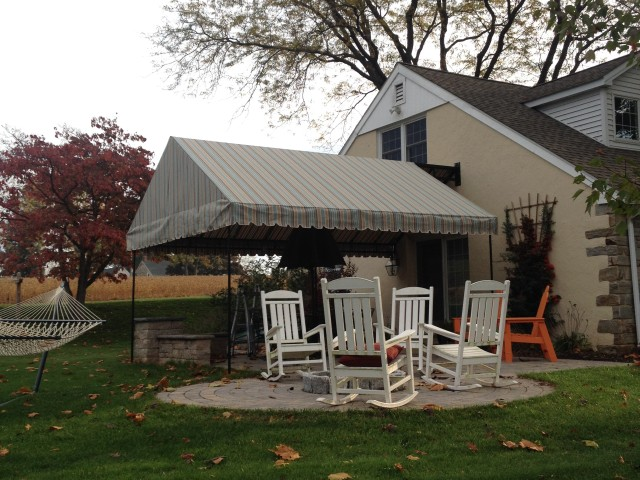 Gable style stationary patio canopy Lebanon PA