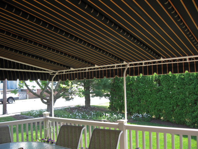 Black Deck awning