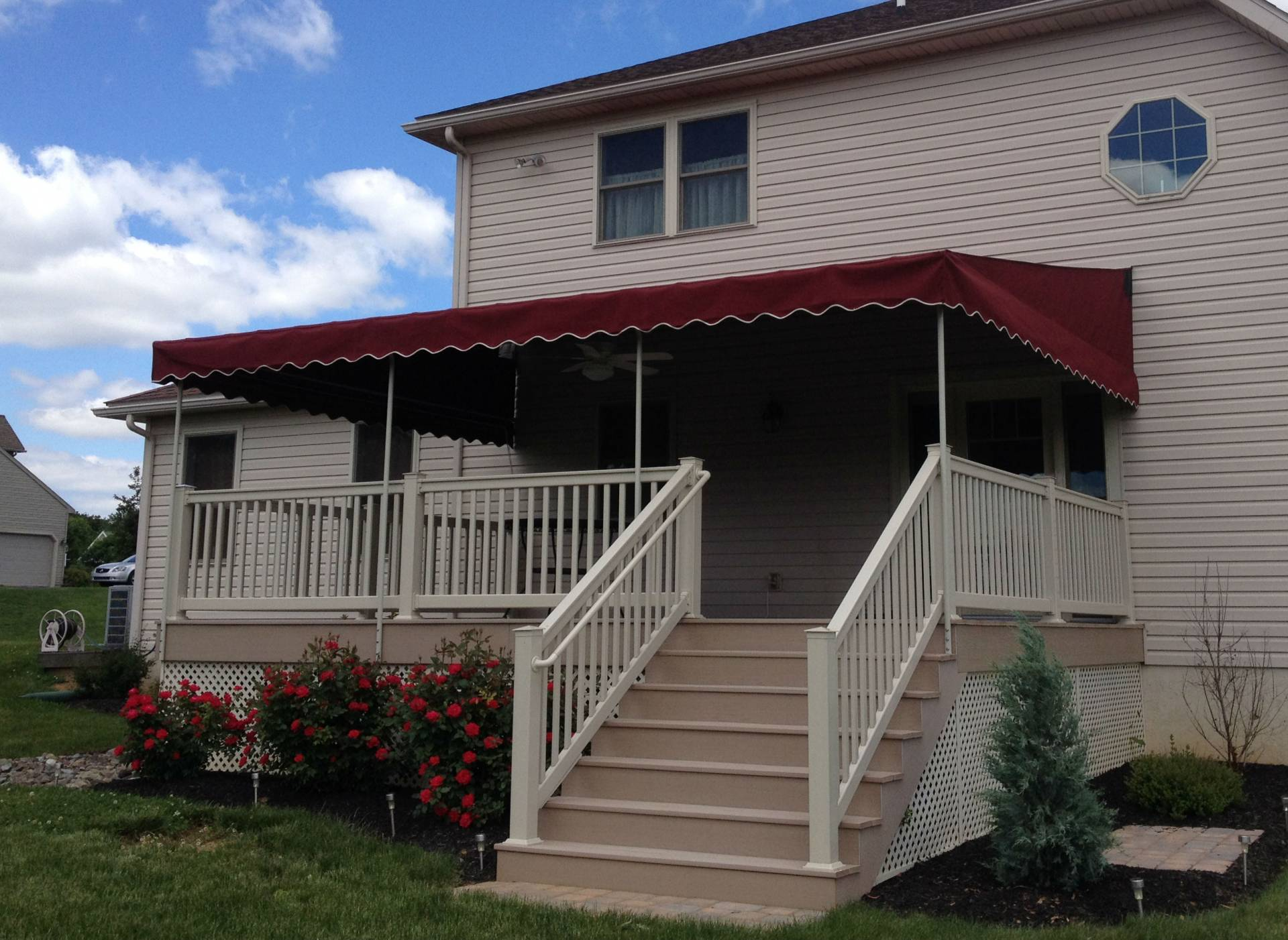shades lcm awning stationary decks plus canopies awnings for services