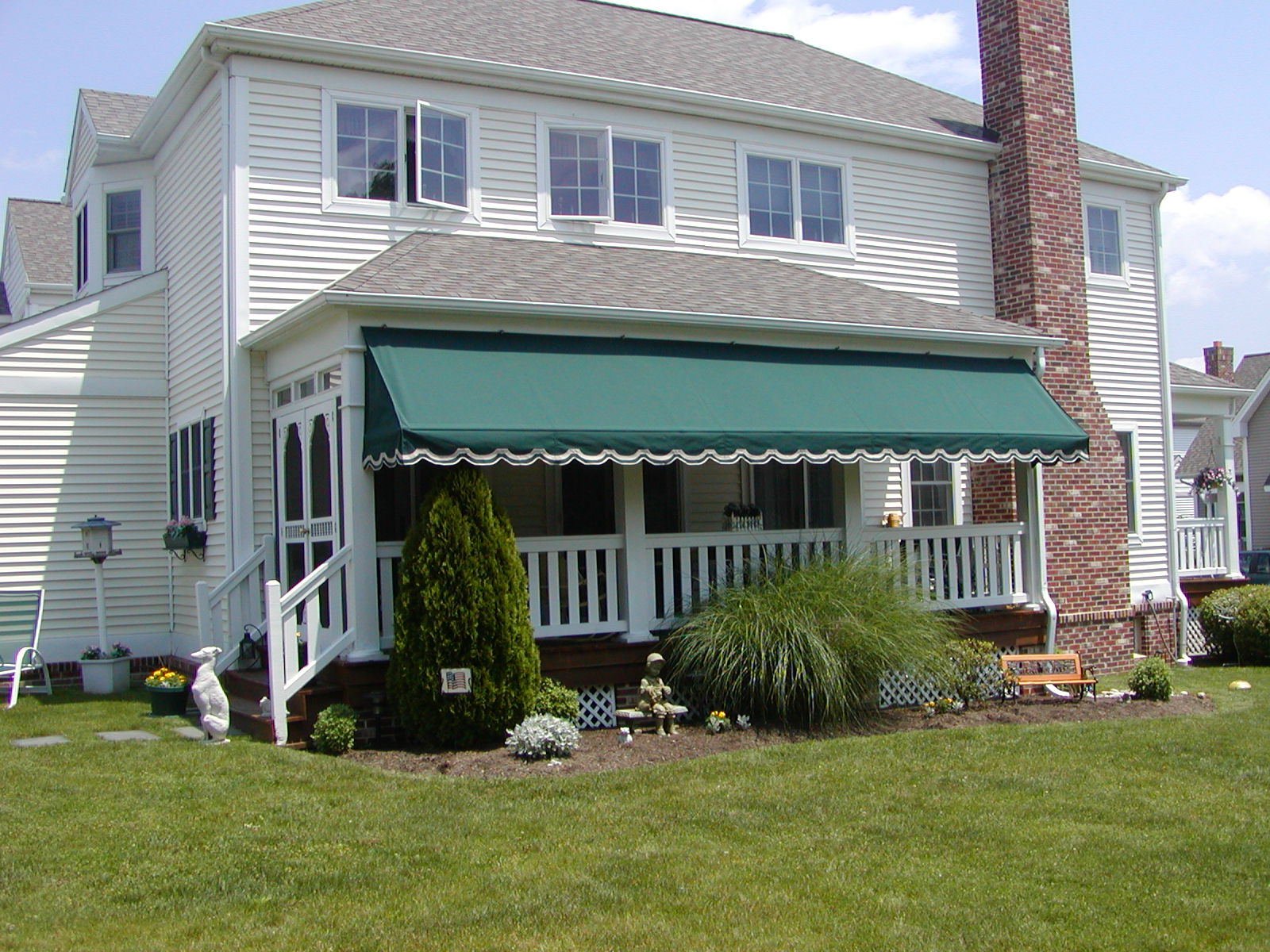 Porch Awning | Kreider's Canvas Service, Inc.