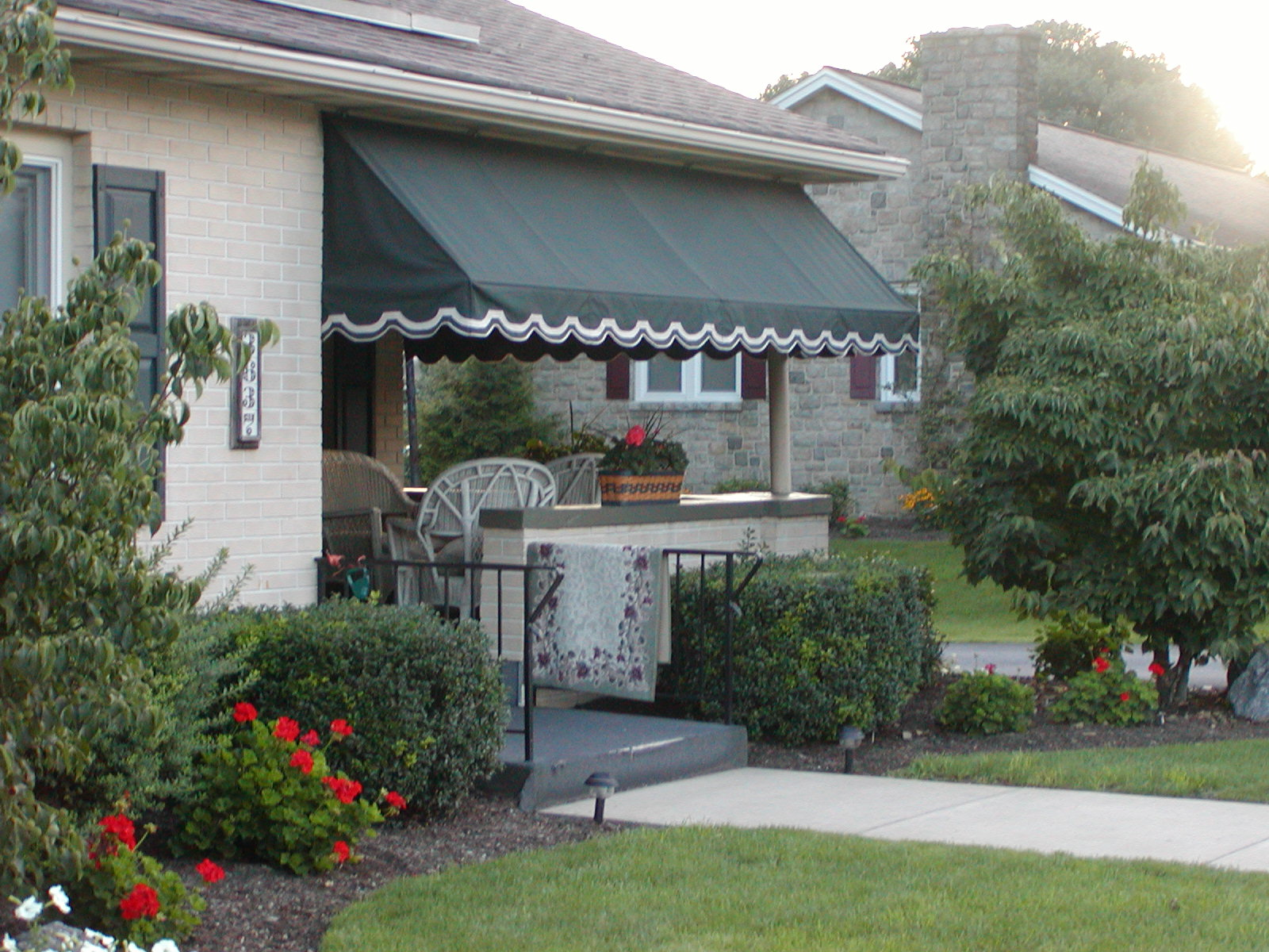 Porch Awning | Kreider's Canvas Service, Inc.