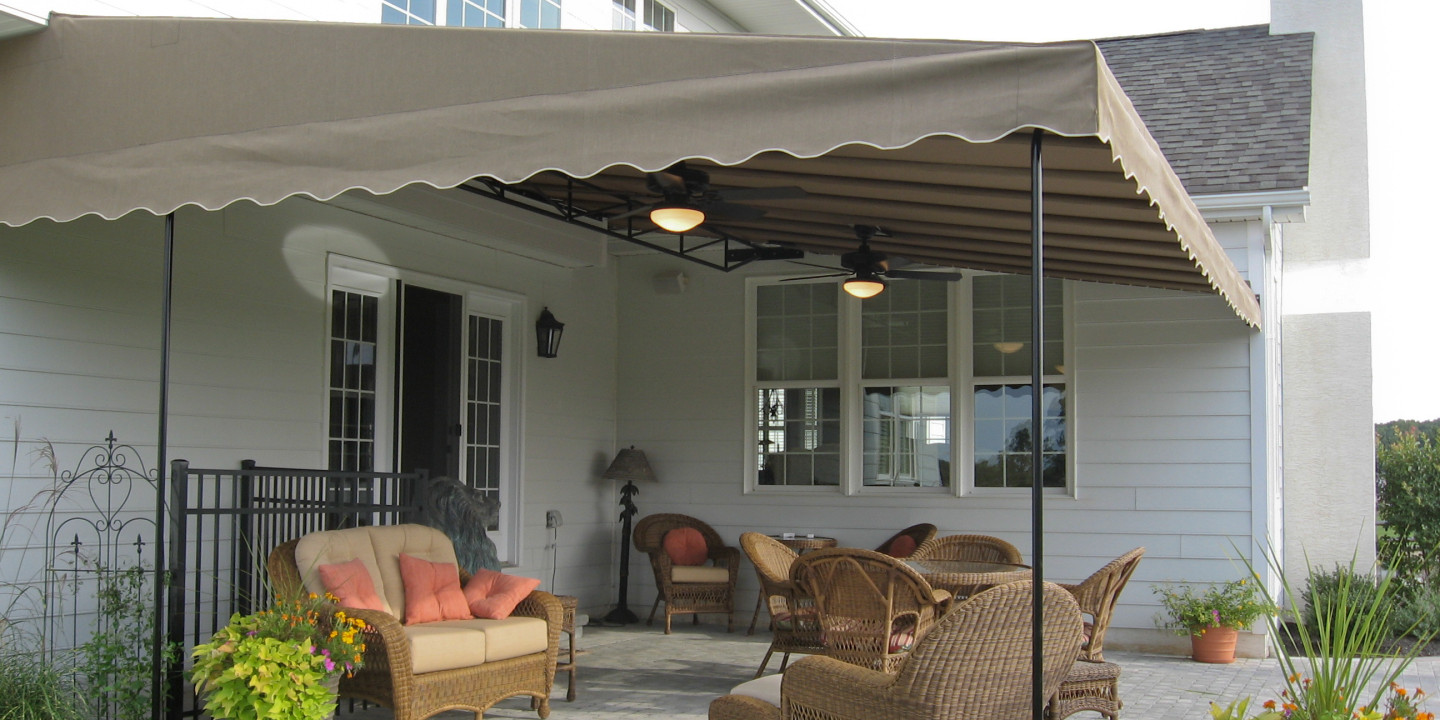 Patio Canopy. Downingtown PA Ceiling fans