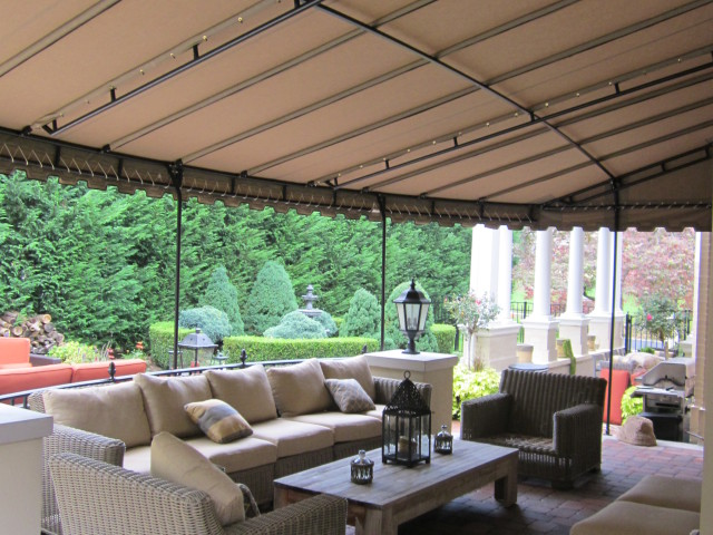 Patio canopy cover