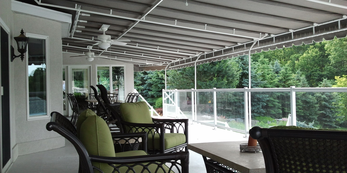 Stationary Deck Canopy