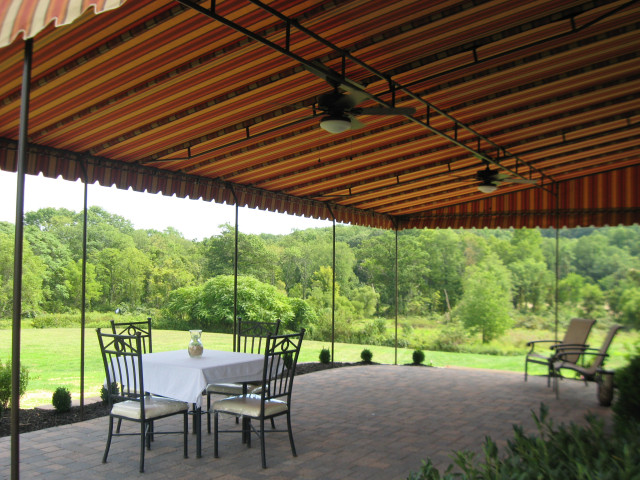 Patio awning cover