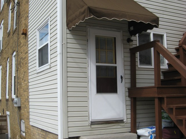 Sunbrella porch awning lititz pa kreider s canvas service inc - Door Hoods Kreider S Canvas Service Inc