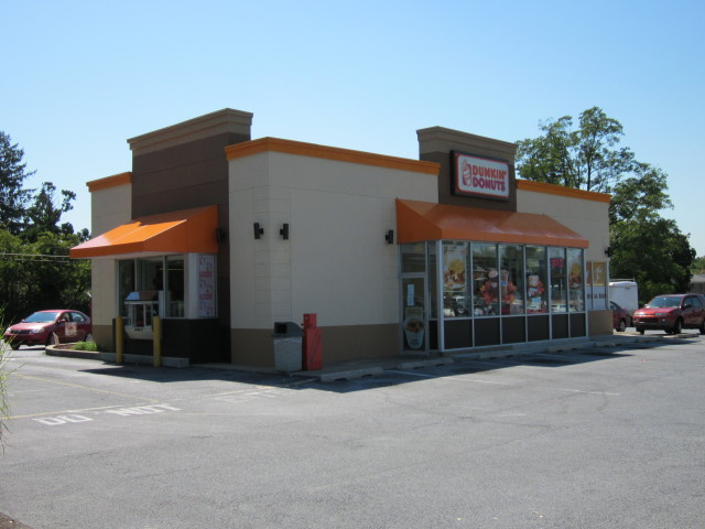 Dunkin Donuts awnings fixed awning canopy cover
