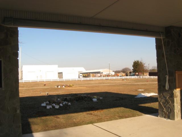 Clear Vinyl Drop Curtains Salem County Veterans Memorial