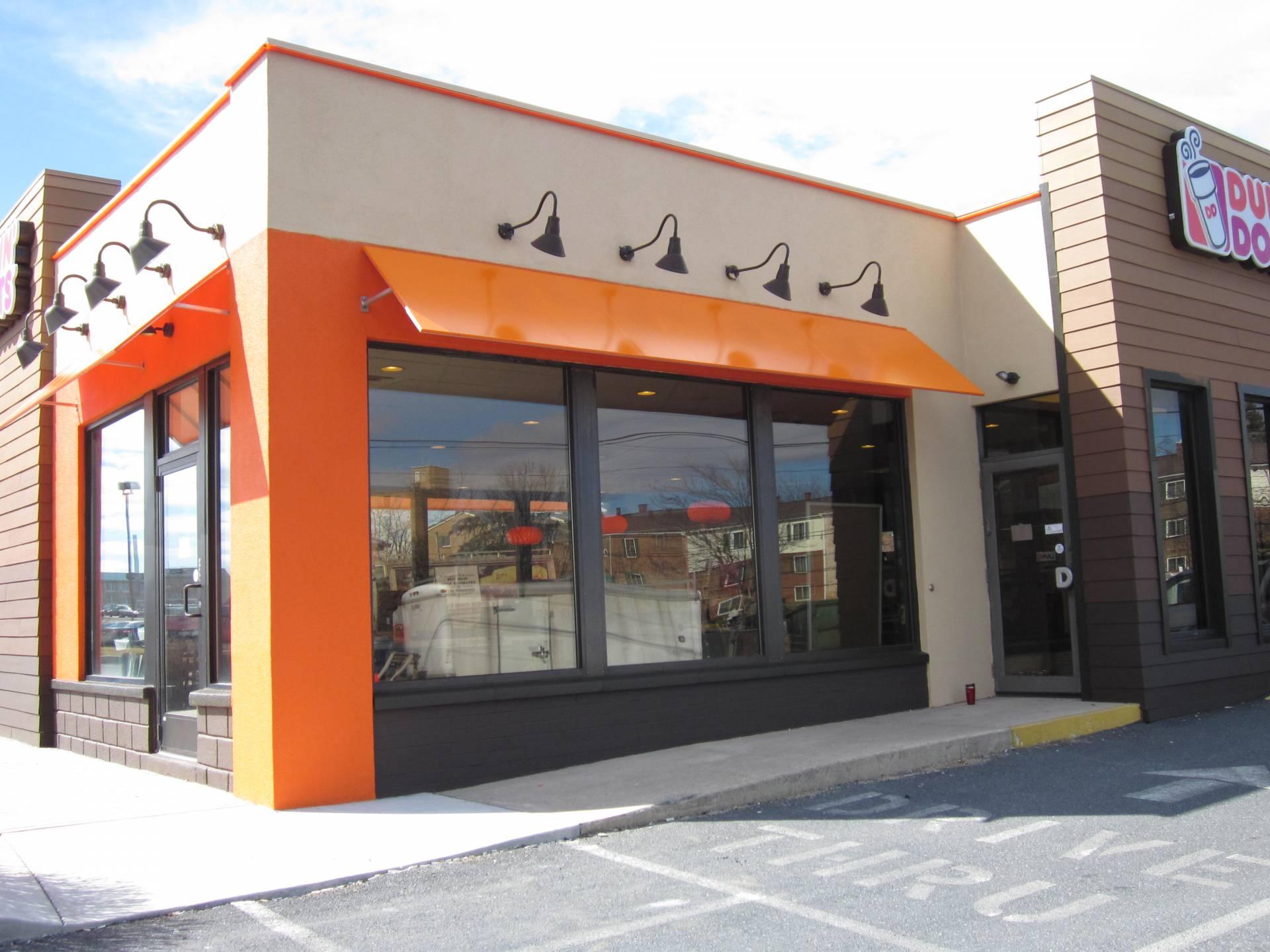 Dunkin Donut Awnings Kreider S Canvas Service Inc
