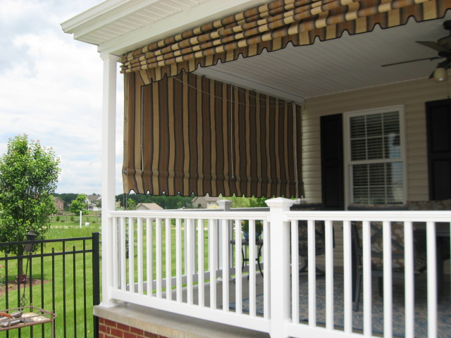 Sunbrella curtains for your porch