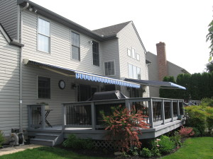 Eastern Retractable Awning Installed In Lancaster
