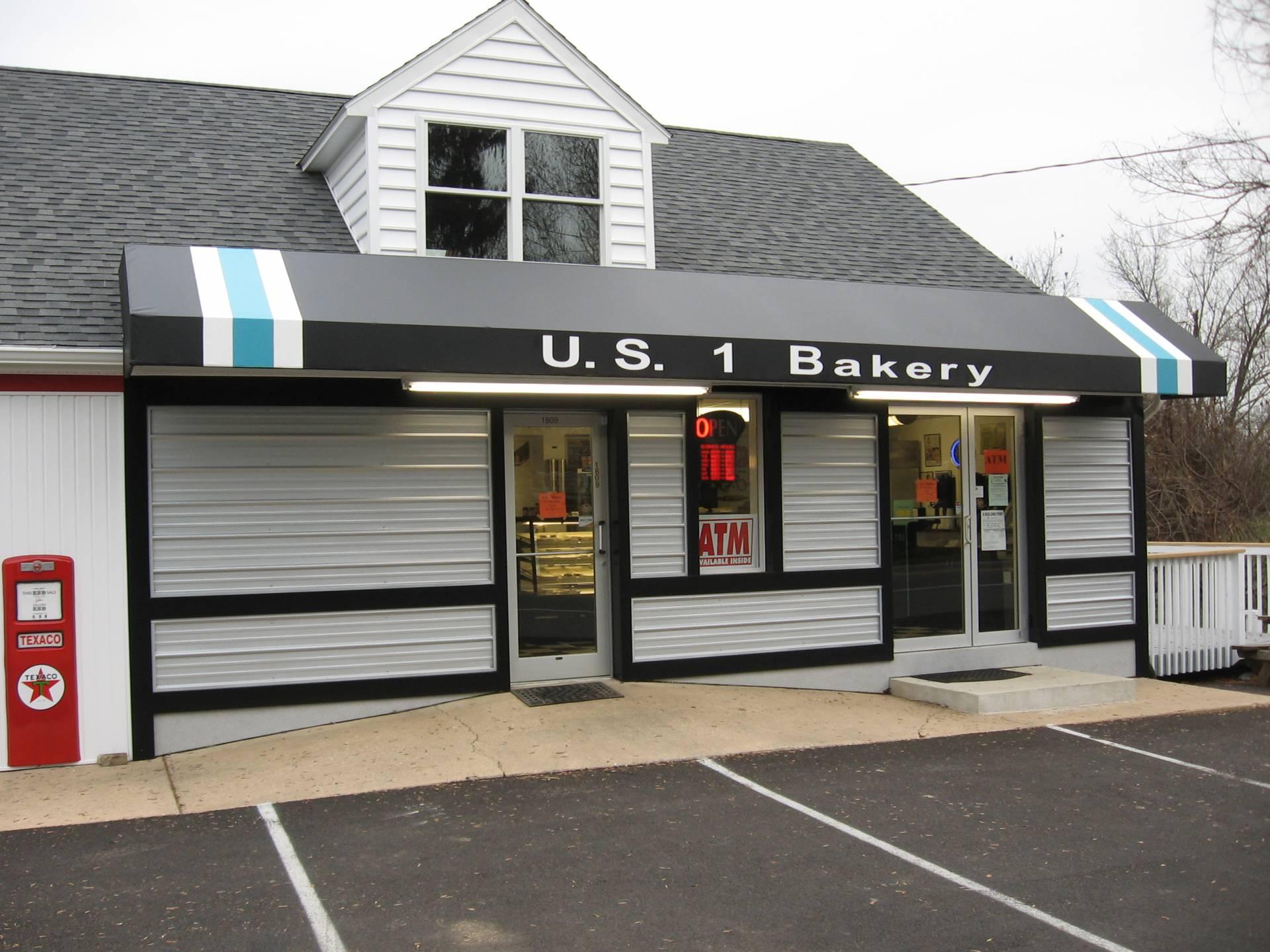 U S 1 Bakery Black Vinyl Awning Kreider S Canvas