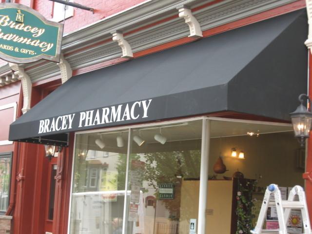 Pharmacy awning