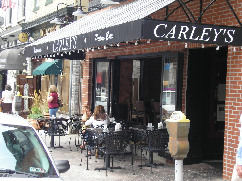 Cafe Awning Carley S Piano Bar Kreider S Canvas