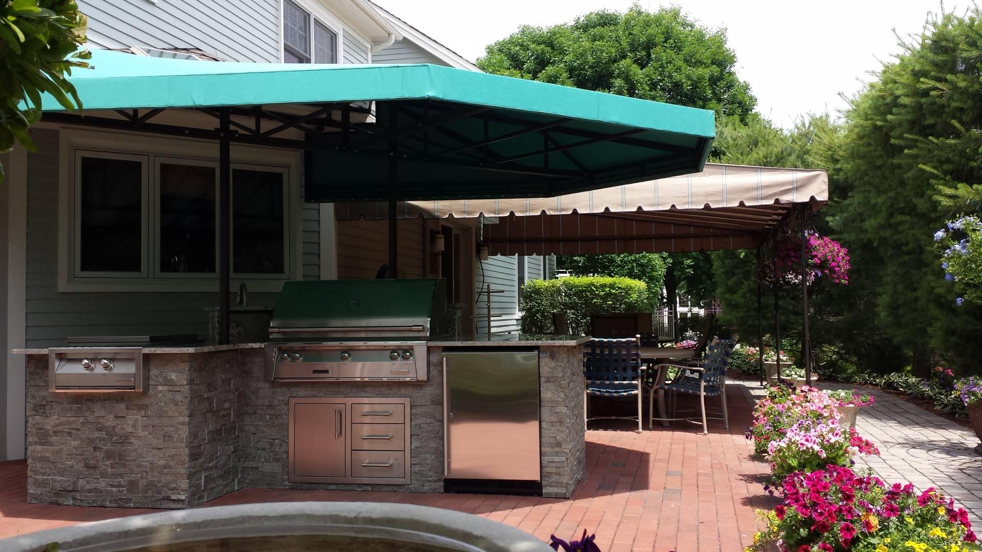 Outdoor Kitchen Canopy Cover Kreider S Canvas Service Inc