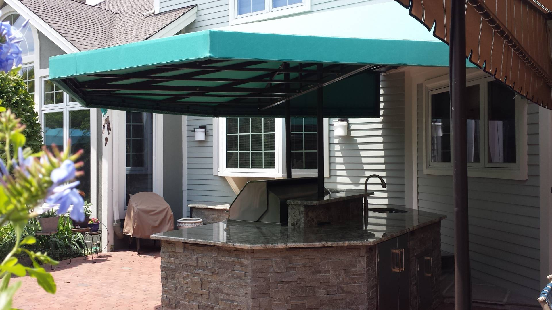 Outdoor Kitchen Canopy Cover Kreider