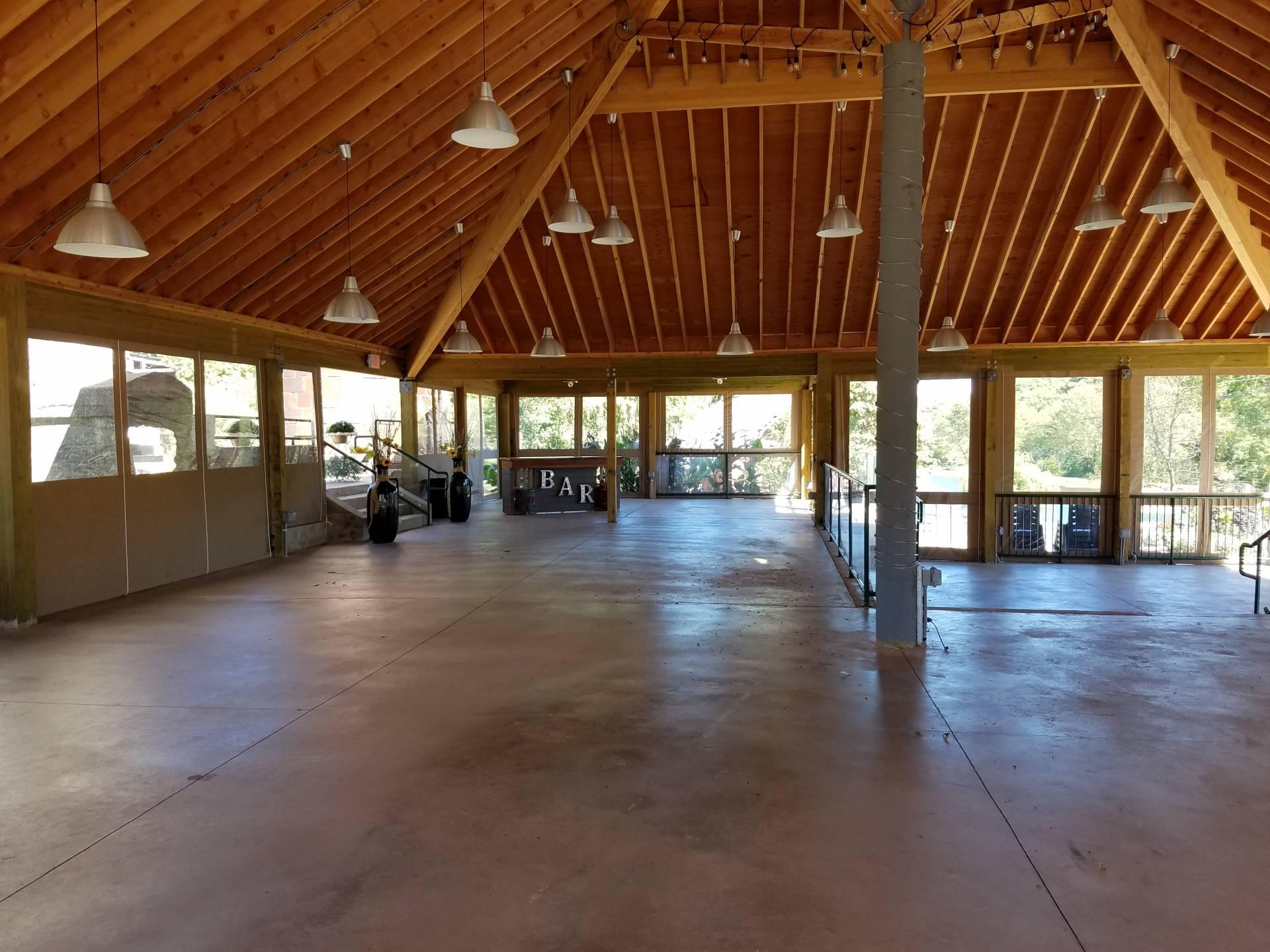 Wedding Pavilion Drop Curtains Kreider S Canvas Service