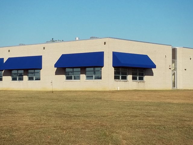 Commercial facade awnings - Mt Joy