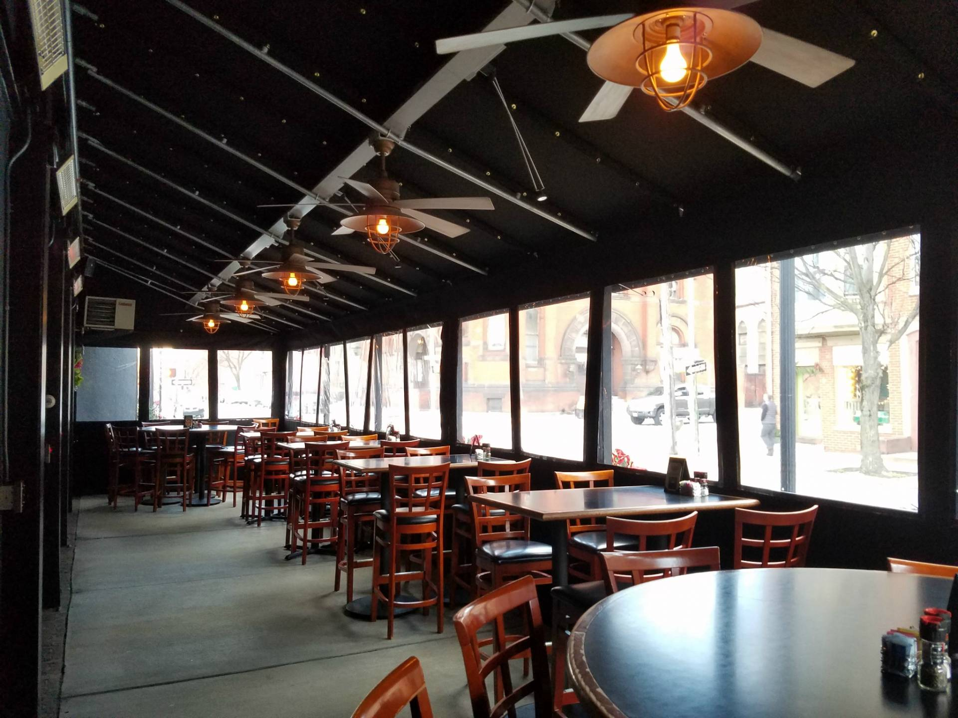 White Rose Bar And Grill York Pa Dining Canopies With Clear