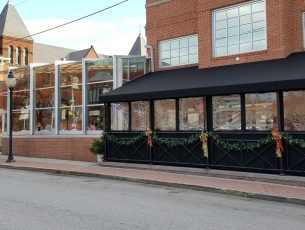 Commercial dining canopy