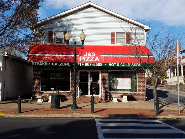 Pizza Shop Awning Kreider S Canvas Service Inc