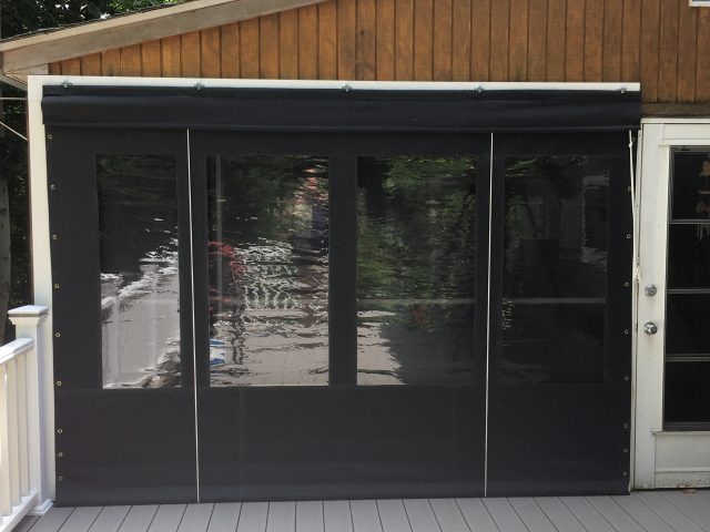 Drop Curtains Enclosures Kreider S Canvas Service Inc
