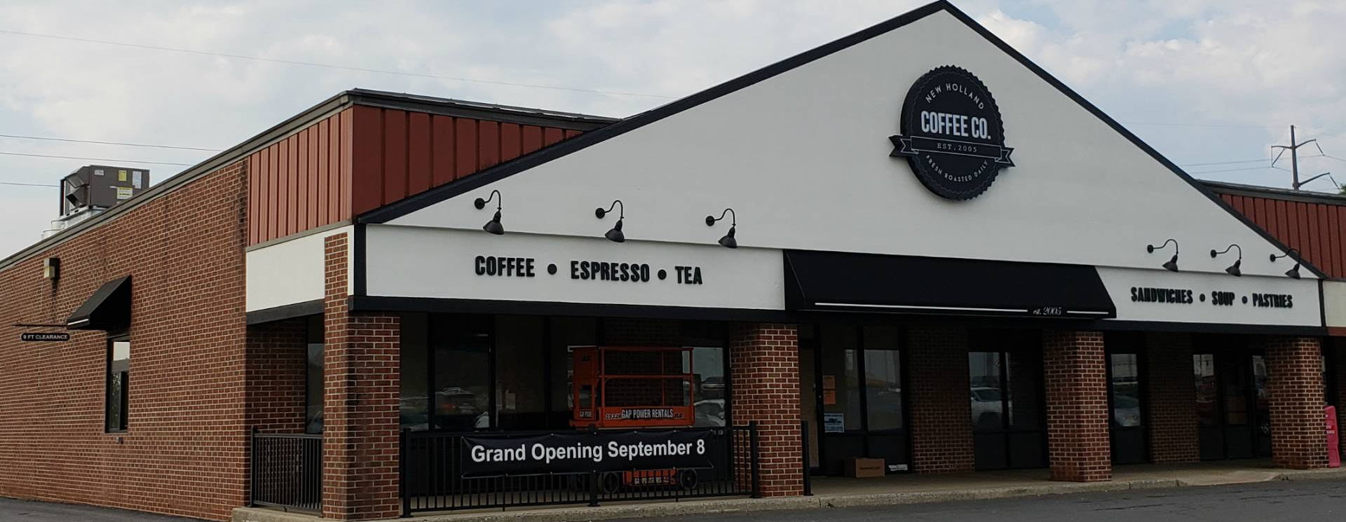 New Holland Coffee Company Storefront Awning Kreider S