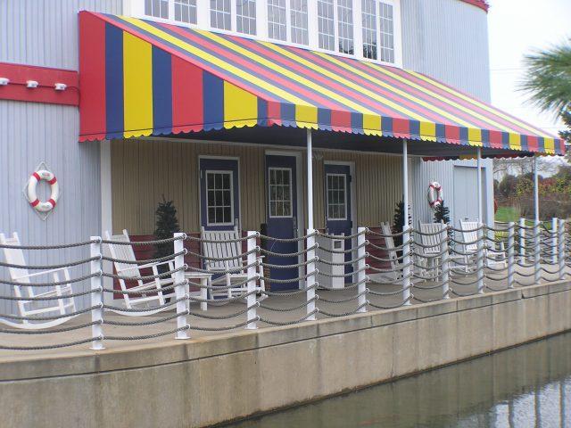 Fulton Steamboat Inn Fixed Frame Canopy Kreider S