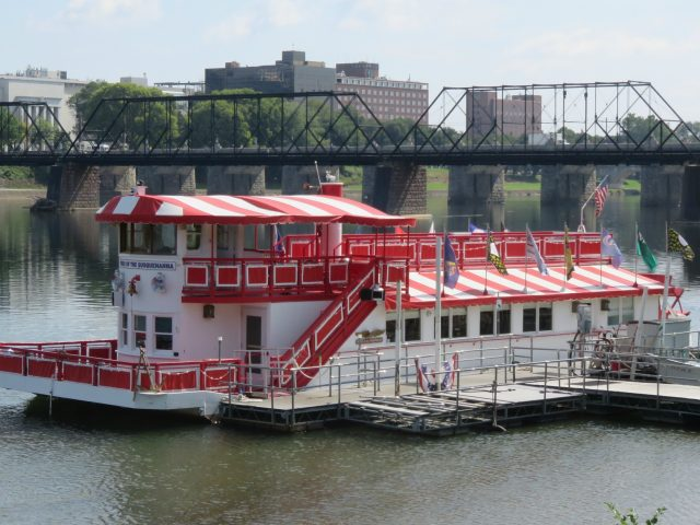 Pride of the Susquehanna river boat canopies