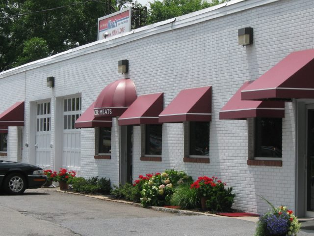 commercial awnings and doorhoods