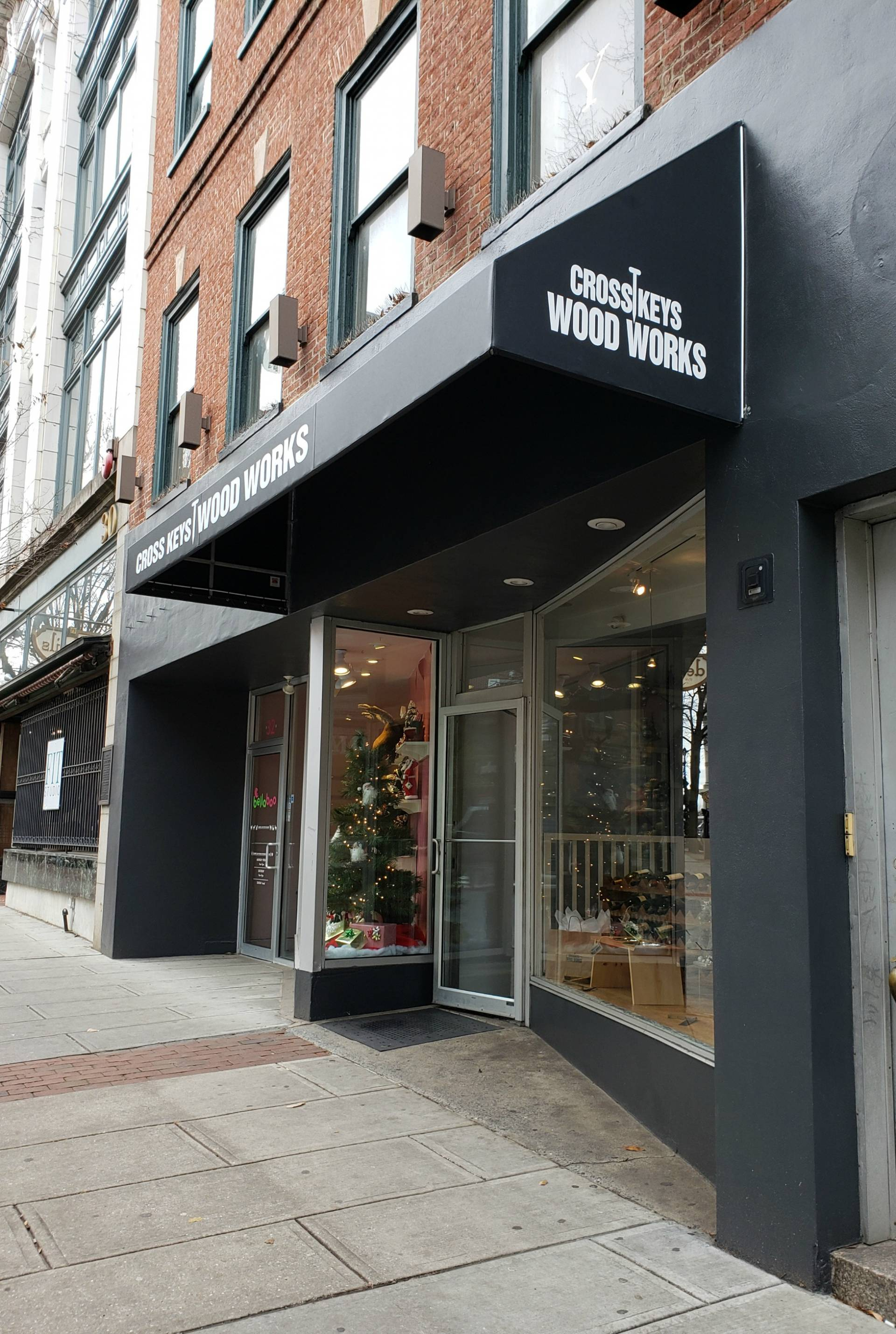 Cross Keys Wood Works - traditional storefront awning ...