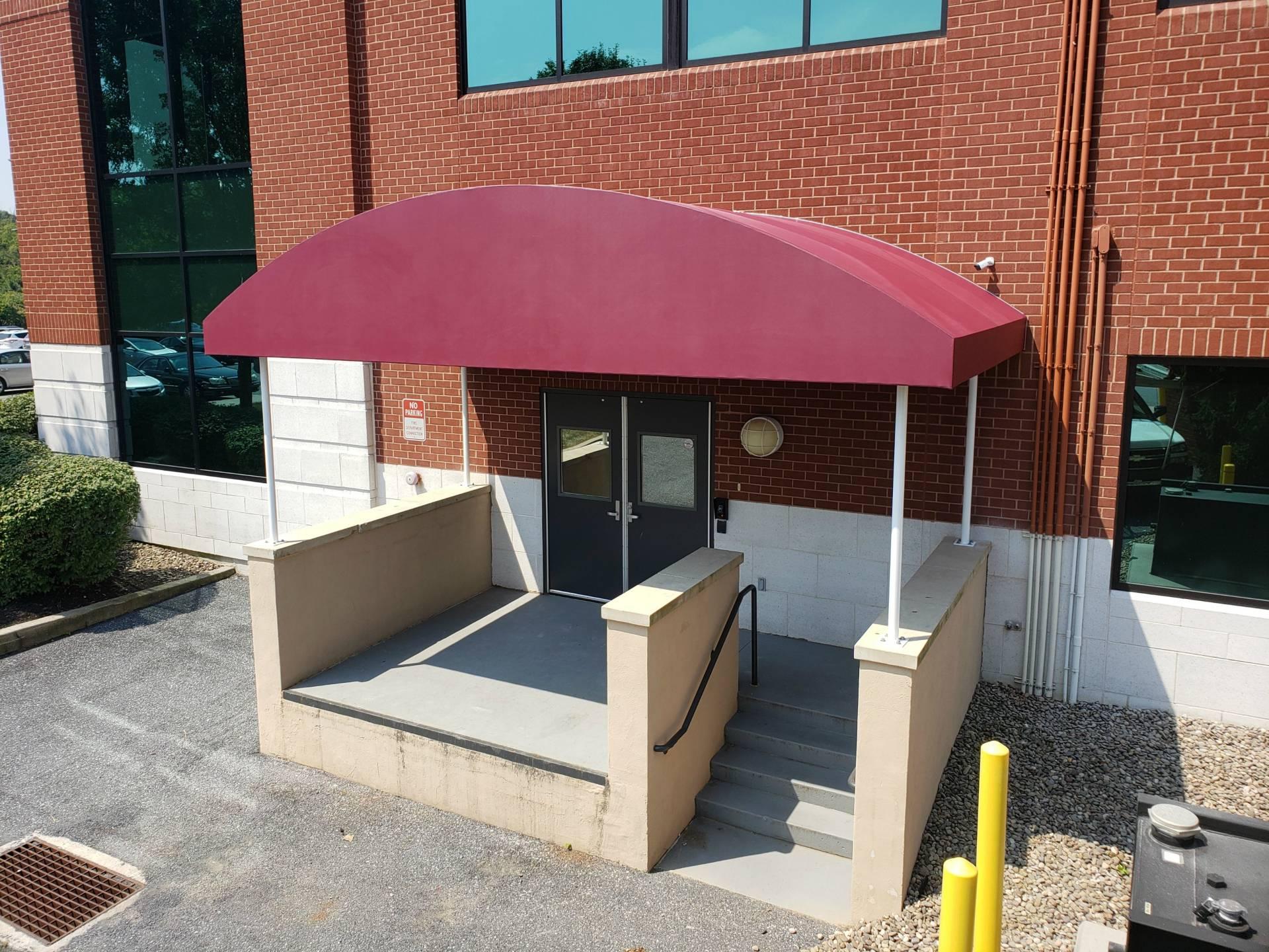 Triple Crown Corporation Entrance Canopy Kreider S