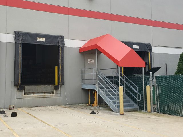 awning doorhood entrance canopy fabric canvas custom sewing lancaster lititz manheim church commercial residential