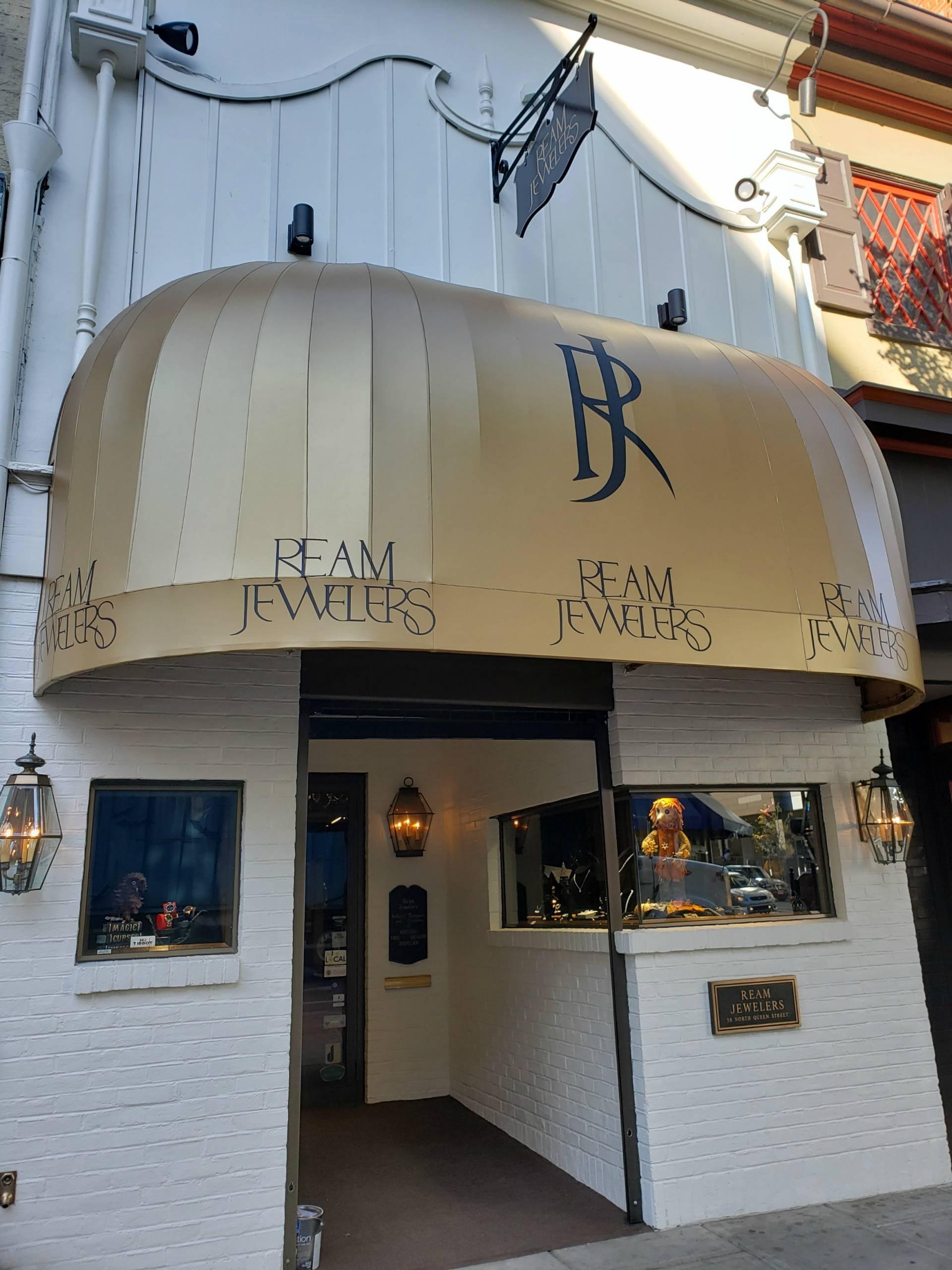 Ream Jewelers Storefront Re Canvas Kreider S Canvas