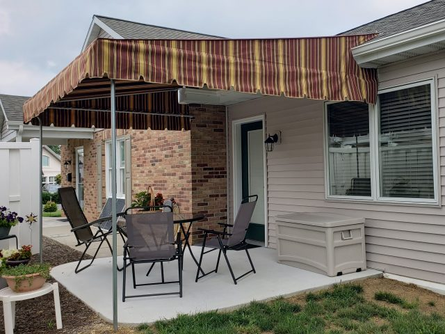Patio cover - Stationary fixed canopy - Luther Acres