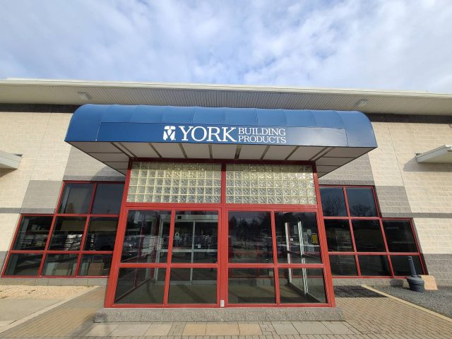 Store front awning - York Building Products