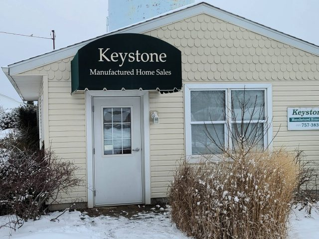 Keystone Manufactured Homes York County Pa Entrance Doorhood Awning sunbrella