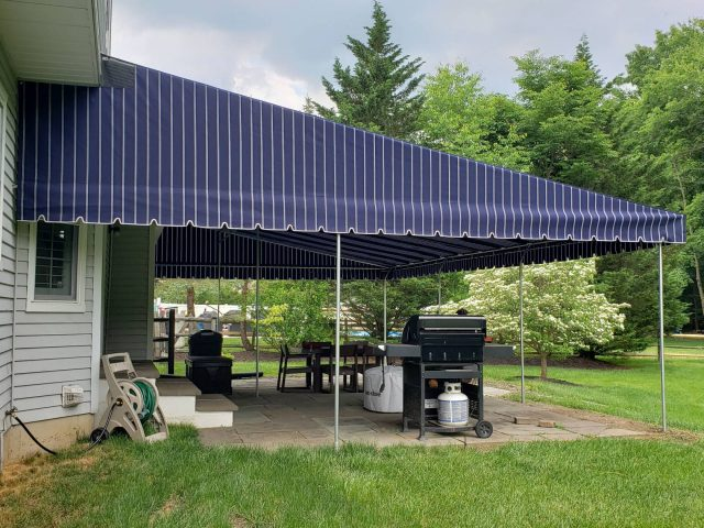 Large Patio Canopy Sunbrella lancaster cover outdoor living room